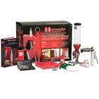 Hornady Lock-N-Load Classic Single Stage Reloading Press Kit with Electronic Scale Hornady Reloading Manual Die Bushings Hand Priming Tool Universal Loading Block One Shot Case Lube Deburring Tool