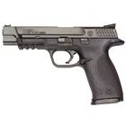 "Smith & Wesson M&P9 Pro Series 9mm Pistol 5"" Barrel Black Frame and Black Melonite Finish Slide Fiber Optic Front Sight and Black Rear Sight 17 Round Magazine"