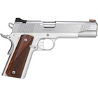 Kimber Stainless LW 1911 .45 ACP 5 Inch Match Grade Stainless Steel Barrel Stainless Steel Slide And Aluminum Frame Red Fiber Optic Front And White Dot Rear Sights Cocobolo Wood Grips 8 Round Magazine