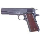 "Auto-Ordnance WWII Parkerized GI Military Mil-Spec Configuration 1911 Pistol Stamped Model 1911A1 U.S. Army 5"" Barrel Chambered in .45 ACP Brown Checkered Plastic Grips 7 Round Magazine"