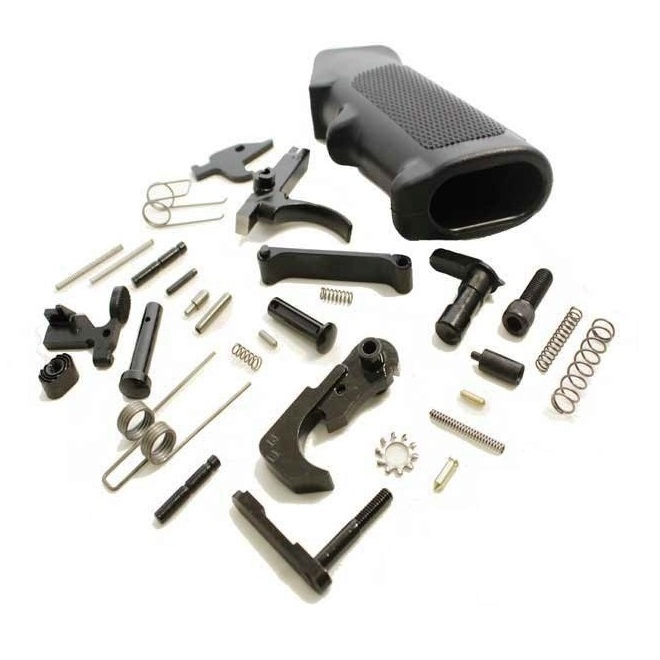 Anderson Manufacturing Complete Mil Spec 5 56mm Nato 223 Rem Ar 15 Lower Receiver Parts Kit With Stainless Steel Trigger And Stainless Steel Hammer The Guns And Gear Store The Best Service And