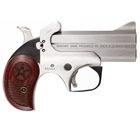 "Bond Arms Century 2000 C2K Derringer with 3.5"" Stainless Steel Barrel Chambered in .45 Long Colt / 3"" .410 GA Shotgun Solid Stainless Steel Frame with Satin Polished Finish Removeable Trigger Guard"