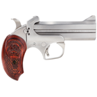 "Bond Arms Snake Slayer IV 4.25"" Stainless Steel Barrel Chambered in .357 MAG / .38 Special Solid Stainless Steel Frame with Satin Polished Finish Removeable Trigger Guard Extended Wood Grips"