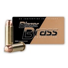 CCI Blazer Brass Ammunition .38 SPL ( Special ) 125 Grain Full Metal Jacket Flat Nose Bullet 945 FPS Velocity at the Muzzle Brass Reloadable Boxer Primed Cartridge Case Box of 50 Rounds
