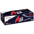 CCI Rimfire Ammunition A22 Magnum Varmint .22 Winchester Magnum Rifle ( 22 WMR ) 35 Grain GamePoint Jacketed Soft Point Lead Bullet 2100 FPS High Velocity Brass Cartridge Case Box Of 200 Rounds