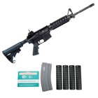 "COLT DEFENSE LE6920 SOCOM M4A1 Carbine Rifle Chambered in 5.56mm NATO 16.1"" Chrome Lined Barrel 1-7"" 6 Groove Right Hand Twist with Knights Armament Quad Rail LE6920SOCOM"