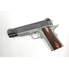 COLT Government Rail Gun XSE 1911 Chambered .45 ACP 5 Inch Stainless Steel National Match Grade Barrel Black Cerakote Slide and Bead Blasted Aluminum Frame Bitone Finish Rosewood Grip 7 Round Magazine