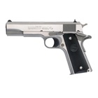 "COLT Government 1911 Model 1991 Series 80 .45 ACP 5"" Barrel Brushed Stainless Steel Slide and Frame Solid Aluminum Trigger High Profile White 3 Dot Sights Composite Grips 7 Round Magazine"