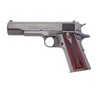 "COLT Government 1911 Model 1991 Series 80 .45 ACP 5"" Barrel Blued Carbon Steel Slide and Frame Solid Aluminum Trigger High Profile White 3 Dot Sights Blue Finish Rosewood Grips 7 Round Magazine"