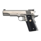 COLT Gold Cup Trophy Stainless Steel 1911 Pistol Chambered in .45 ACP with Adjustable Wide Trigger National Match Grade Barrel Fully Adjustable Bomar Target Sights 7 Round Magazine