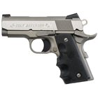 "COLT Defender 1911 Compact 9mm Stainless Steel Slide and Aluminum Frame 3"" Bull Barrel Novak Carry Sights with White Dots Upswept Beavertail Safety Enhanced Hammer Hogue Rubber Grips 8 Round Magazine"