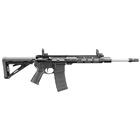 DPMS Panther Arms AR-15 Recon Tactical Carbine 5.56mm NATO 16 Inch Heavy Stainless Steel Barrel AAC Flash Hider Free Float M-LOK Handguard Magpul MOE Pistol Grip Stock Flip Up Sights 30 RD Magazine