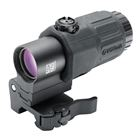 EOTech G33 3x Magnifier for Use with Holographic Weapon Sight with Easy Switch to Side Bracket and Quick Detachable Weaver / Picatinny Mount