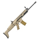 FNH USA FN Herstal America SCAR 16S 5.56mm NATO Free Floating Cold Hammer Forged Chrome Lined Mil-Spec Barrel Fully Ambidextrous Controls Optics Rail Side Folding Flat Dark Earth FDE Stock 30 Round