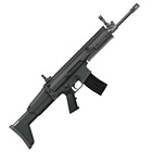 FNH USA FN Herstal America SCAR 16S 5.56mm NATO Free Floating Cold Hammer Forged Chrome Lined Mil-Spec Barrel Fully Ambidextrous Controls Optics Rail Side Folding Matte Black Finish Stock 30 Round