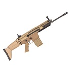 FNH USA FN Herstal America SCAR 17S 7.62mm NATO Free Floating Cold Hammer Forged Chrome Lined Mil-Spec Barrel Fully Ambidextrous Controls Optics Rail Side Folding Flat Dark Earth FDE Stock 20 Round