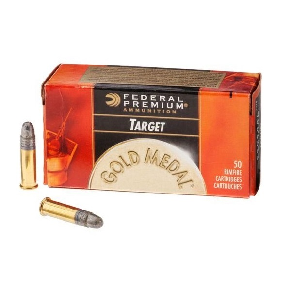 federal premium rimfire ammunition gold medal match 22 long rifle