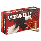 Federal Premium Ammunition American Eagle 10mm Automatic 180 Grain Full Metal Jacket Flat Nose Bullet 1060 FPS Velocity at the Muzzle Brass Reloadable Boxer Primed Cartridge Case Box of 50 Rounds