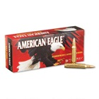 Federal Premium Ammunition American Eagle Ammunition .223 REM ( Remington ) 50 Grain JHP ( Jacketed Hollow Point ) Bullet Brass Cartridge Case Box of 20 Rounds