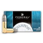 Federal Premium Ammunition Champion Lightning Target .22 Long Rifle ( 22 LR ) 40 Grain Lead Round Nose Bullet 1240 FPS High Velocity Super Sonic Brass Cartridge Case Bulk Pack Box Of 500 Rounds