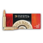 Federal Premium Ammunition Gold Medal Match .223 REM 77 Grain Sierra Matchking BTHP Bullet 2750 FPS Velocity at the Muzzle Brass Reloadable Boxer Primed Cartridge Case Box of 20 Rounds