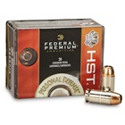 Federal Premium Ammunition Personal Defense .45 ACP 230 Grain HST JHP 890 FPS Velocity at the Muzzle Nickel Plated Brass Reloadable Boxer Primed Cartridge Case Box of 20 Rounds
