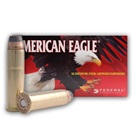 Federal Premium Ammunition American Eagle .357 Magnum 158 Grain Jacketed Soft Point Bullet Brass Cartridge Case Box of 50 Rounds