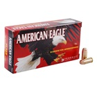Federal Premium Ammunition American Eagle .40 S&W ( Smith & Wesson ) 165 Grain Full Metal Jacket Flat Nose Bullet 1130 FPS Muzzle Velocity Brass Reloadable Boxer Primed Cartridge Case Box Of 50 Rounds
