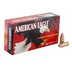 Federal Premium Ammunition American Eagle 9mm Luger 115 Grain Full Metal Jacket Round Nose Bullet 1160 FPS Velocity at the Muzzle Brass Reloadable Boxer Primed Cartridge Case Box of 50 Rounds