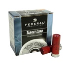"Federal Premium Ammunition Top Gun Target Load 12 GA 2 3/4"" 3 Dram Equivalent 1 1/8 OZ # 7.5 Shot Extra Hard Lead Shot Muzzle Velocity of 1200 FPS High Density Plastic Wad Box of 25 Rounds"