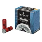 "Federal Premium Ammunition Top Gun Target Load 12 GA 2 3/4"" 3 Dram Equivalent 1 1/8 OZ # 8 Shot Extra Hard Lead Shot Muzzle Velocity of 1200 FPS High Density Plastic Wad Box of 25 Rounds"