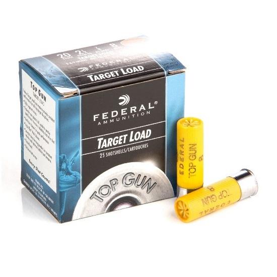 Federal Premium Ammunition Top Gun Target Load 20 GA 2 1/2