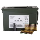 Federal Premium Ammunition XM855 5.56x45mm NATO 62 Grain SS109 Steel Penetrator Green Tip Bullet 3020 FPS Velocity at the Muzzle Brass Reloadable Boxer Primed Cartridge Case Ammo Can Of 420 Rounds