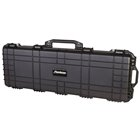 Flambeau Outdoors Large Heavy Duty HD Two Pistol Hard Case Two Latches, Lockable, Strong Hinge, Full Two Layers Of Egg Shell Foam, Die Cut Padding, Air and Water Tight Seal, and Pressure Purge Screw