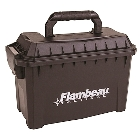 Flambeau Outdoors Tactical Ammo Can for Ammunition and Gear Storage with Water Resistant O-Ring, Stackable Design, and Large Molded Carry Handle