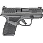 Springfield Armory Hellcat 9mm Luger 3 Inch Barrel Bright Red Fiber Optic Front Sight Tactical Rack U-Notch Rear Sight Adaptive Grip Texture Conceal Carry Pistol 11 & 13 Round Extended Magazines