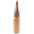 Hornady Reloading Bullets 264 Caliber 6.5mm .264 Inch Diameter 129 Grain Super Shock Tip ( SST ) Boat Tail Polymer Tip Copper Jacketed with Cannelure Lead Core Bullet Box of 100 Per Pack