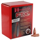 Hornady Reloading Bullets 35 Caliber .358 Inch Diameter 200 Grain Flex Tip eXpanding ( FTX ) Designed For Use In .35 Cal. Lever Guns Polymer Tip Copper Jacketed Lead Core Bullet Box of 100 Per Pack