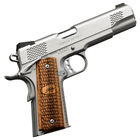 "Kimber Stainless Raptor II 1911 .45 ACP 5"" Match Grade Barrel and Trigger Satin Silver Stainless Steel Slide and Aluminum Frame Tactical Wedge Fixed Tritium Night Sights 7 Round Magazine"