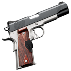 "Kimber Custom Crimson Carry II 1911 .45 ACP 5"" Match Grade Barrel Match Grade Trigger Matte Black Steel Slide and Satin Silver Aluminum Frame Fixed Low Profile Black Sights 7 Round Magazine"