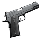 "Kimber Custom II 1911 .45 ACP 5"" Match Grade Barrel Match Grade Trigger Matte Black Steel Slide and Frame Fixed Low Profile Black Sights 7 Round Magazine"