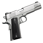"Kimber Stainless II 1911 .45 ACP 5"" Match Grade Barrel Match Grade Trigger Satin Silver Stainless Steel Slide and Frame Fixed Low Profile Black Sights 7 Round Magazine"