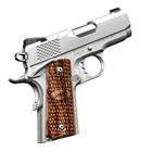 "Kimber Stainless Ultra Raptor II 1911 .45 ACP 3"" Match Grade Barrel and Trigger Satin Silver Stainless Steel Slide and Aluminum Frame Tactical Wedge Fixed Tritium Night Sights 7 Round Magazine"