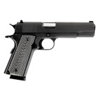 Llama Firearms MAX-I 1911 Pistol .45 ACP Chambered 5 Inch Throated Forged Steel Barrel Matte Blue Hammer Forged Steel Slide And Frame Mil-Spec White Dot Front Rear Sights G-10 Grips 8 Round Magazine