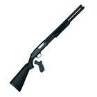 Mossberg Tactical 500 Shotgun 12 GA 3 Inch Chamber 20 Inch Cylinder Bore Barrel Brass Bead Sight Matte Blued Finish Black Synthetic Forearm Butt Stock and Pistol Grip Included 8 Round Capacity