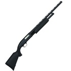 Mossberg Maverick 88 Youth Shotgun 12 GA 3 Inch Chamber 28 Inch Vent Rib Barrel with Modified Choke Tube Twin Bead Sight Matte Blued Finish Black Synthetic Forearm and Butt Stock 6 Round Capacity