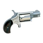 "North American Arms Mini Revolver Lightweight Compact Pistol Ideal for Concealed Carry Chambered in .22 LR with a 1 1/8"" Barrel 5 Shot Cylinder Fixed Sights with Real Wood Slim Line Grips"