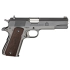 Springfield Armory Mil-Spec Defender 1911 .45 ACP 5 Inch Stainless Steel Match Grade Barrel Parkerized Forged Steel Slide And Frame Combat White Dot Sights Fully Checkered Wood Grips 7 Round Magazine