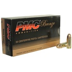 PMC Ammunition Bronze Line Ammunition 9mm Luger 115 Grain Full Metal Jacket Bullet Brass Cartridge Case Box of 50 Rounds