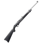 Ruger 10/22 Carbine Rimfire Rifle Chambered .22 LR ( 22 Long Rifle ) 18.5 Inch Barrel Stainless Steel Receiver Gold Bead Front And Rear Adjustable Sights Synthetic Stock 10 Round Magazine
